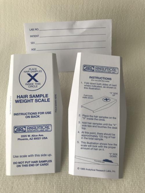 hair test kit